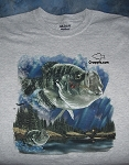 Crappie.com SHORT SLEEVE T-Shirt Color Cartoon Design