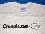 Crappie.com T-Shirt - Small Fish