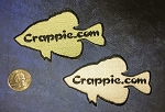 Iron on Crappie.com Patch
